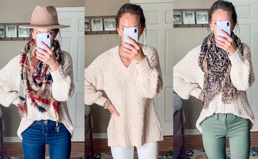 Closet Staples: CreamSweater